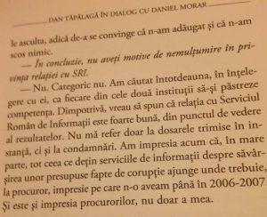 face - Piruetele fostului șef DNA. Daniel Morar în 2012: SRI-ul face exact ce-i cere legea/ relația cu SRI este foarte bună/ Nu am nici o probă să spun că SRI dirijează dosarele Daniel-Morar-despre-relatia-cu-SRI-in-2012-300x244